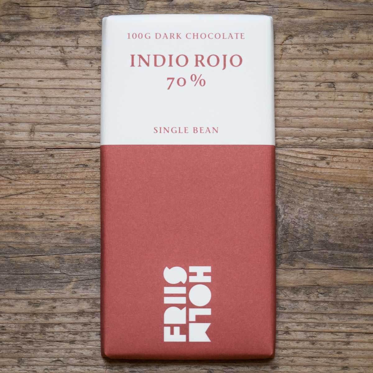 Friis-Holm, Indio Rojo 70%