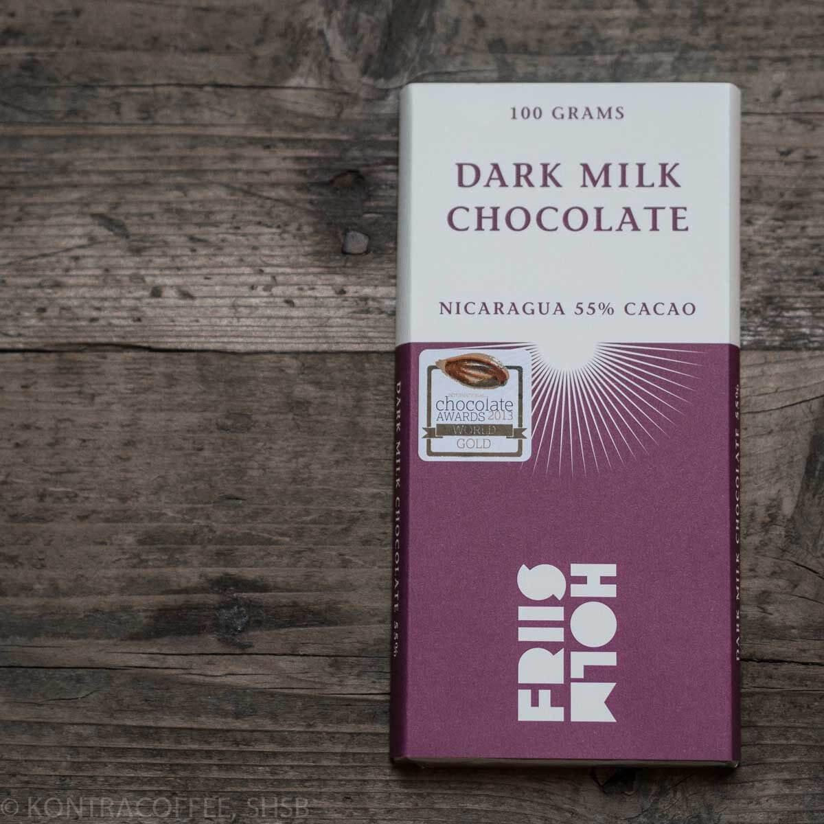 Friis-Holm, Dark Milk 55%, 100g