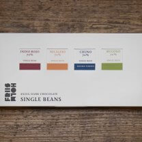 Friis-Holm, Single Beans 70 %. 4 x 25 g