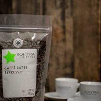 Caffe Latte Espress - Espressoblend fra Kontra Coffee
