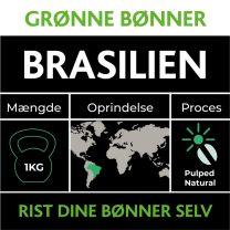 Grønne bønner fra Brasilien