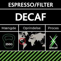 Decaf Dark Roast 250g