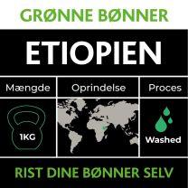 Etiopien Grønne Bønner 1kg