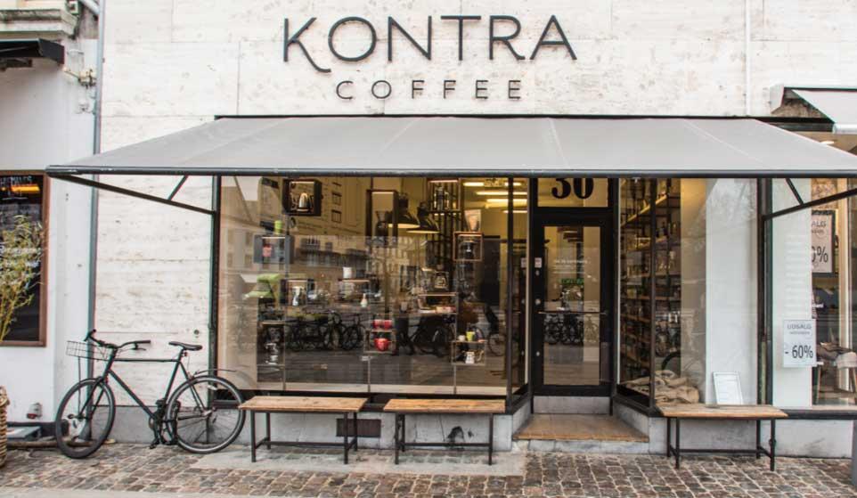 KONTRA Coffee butik på Østerbro