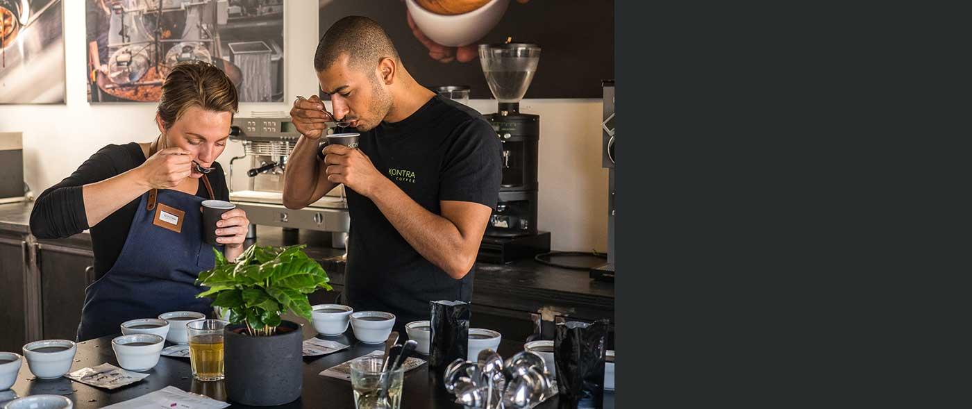 Kaffens Univers hos Kontra Coffee
